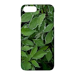 Texture Leaves Light Sun Green Apple Iphone 7 Plus Hardshell Case by BangZart