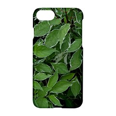 Texture Leaves Light Sun Green Apple Iphone 7 Hardshell Case by BangZart