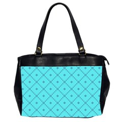 Pattern Background Texture Office Handbags (2 Sides)  by BangZart