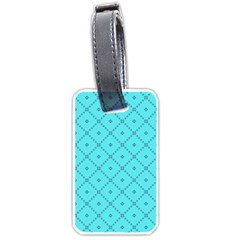 Pattern Background Texture Luggage Tags (two Sides)