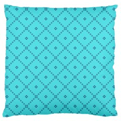 Pattern Background Texture Large Flano Cushion Case (one Side) by BangZart