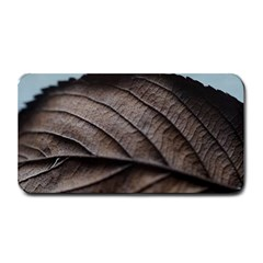 Leaf Veins Nerves Macro Closeup Medium Bar Mats by BangZart