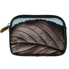 Leaf Veins Nerves Macro Closeup Digital Camera Cases by BangZart