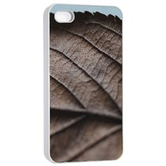 Leaf Veins Nerves Macro Closeup Apple Iphone 4/4s Seamless Case (white) by BangZart