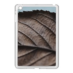 Leaf Veins Nerves Macro Closeup Apple Ipad Mini Case (white) by BangZart