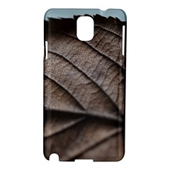 Leaf Veins Nerves Macro Closeup Samsung Galaxy Note 3 N9005 Hardshell Case by BangZart