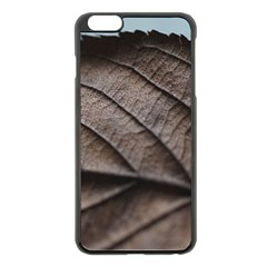 Leaf Veins Nerves Macro Closeup Apple Iphone 6 Plus/6s Plus Black Enamel Case by BangZart