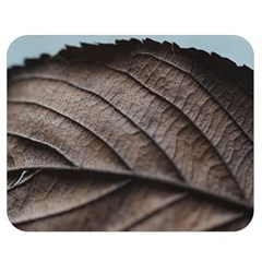 Leaf Veins Nerves Macro Closeup Double Sided Flano Blanket (medium)  by BangZart