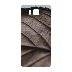 Leaf Veins Nerves Macro Closeup Samsung Galaxy Alpha Hardshell Back Case by BangZart