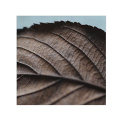 Leaf Veins Nerves Macro Closeup Small Satin Scarf (square) by BangZart