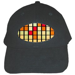 Mozaico Colors Glass Church Color Black Cap by BangZart