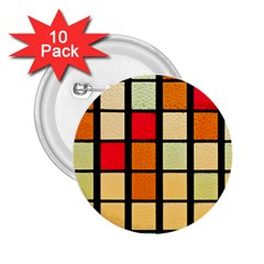 Mozaico Colors Glass Church Color 2 25  Buttons (10 Pack)  by BangZart