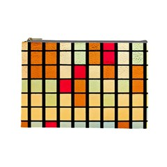 Mozaico Colors Glass Church Color Cosmetic Bag (large)