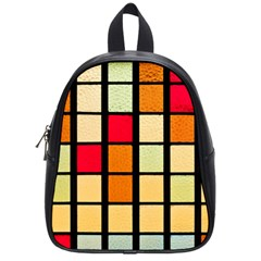 Mozaico Colors Glass Church Color School Bags (small)  by BangZart