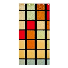 Mozaico Colors Glass Church Color Shower Curtain 36  X 72  (stall)  by BangZart