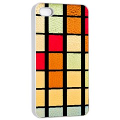 Mozaico Colors Glass Church Color Apple Iphone 4/4s Seamless Case (white)