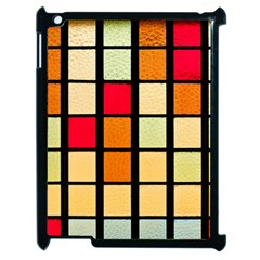 Mozaico Colors Glass Church Color Apple Ipad 2 Case (black) by BangZart