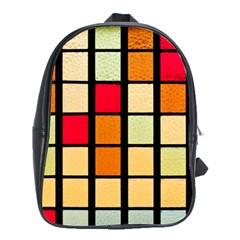 Mozaico Colors Glass Church Color School Bags (xl)  by BangZart