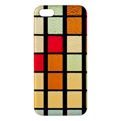 Mozaico Colors Glass Church Color Iphone 5s/ Se Premium Hardshell Case by BangZart