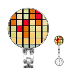 Mozaico Colors Glass Church Color Stainless Steel Nurses Watch