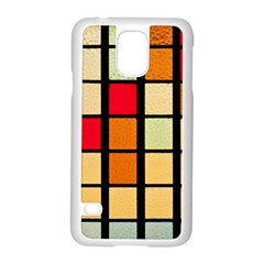 Mozaico Colors Glass Church Color Samsung Galaxy S5 Case (white) by BangZart