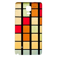 Mozaico Colors Glass Church Color Galaxy Note 4 Back Case by BangZart