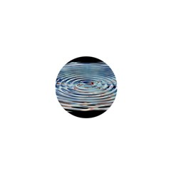 Wave Concentric Waves Circles Water 1  Mini Buttons