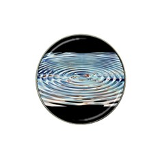 Wave Concentric Waves Circles Water Hat Clip Ball Marker (4 Pack) by BangZart