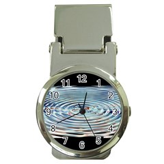 Wave Concentric Waves Circles Water Money Clip Watches