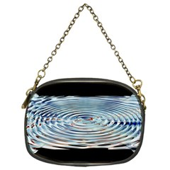 Wave Concentric Waves Circles Water Chain Purses (one Side)  by BangZart