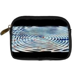 Wave Concentric Waves Circles Water Digital Camera Cases by BangZart