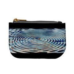 Wave Concentric Waves Circles Water Mini Coin Purses