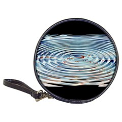 Wave Concentric Waves Circles Water Classic 20 Cd Wallets by BangZart