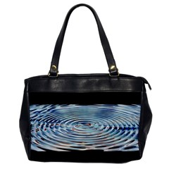 Wave Concentric Waves Circles Water Office Handbags
