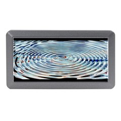 Wave Concentric Waves Circles Water Memory Card Reader (mini)