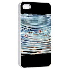 Wave Concentric Waves Circles Water Apple Iphone 4/4s Seamless Case (white) by BangZart