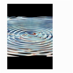 Wave Concentric Waves Circles Water Small Garden Flag (two Sides) by BangZart