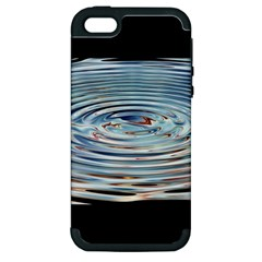 Wave Concentric Waves Circles Water Apple Iphone 5 Hardshell Case (pc+silicone) by BangZart