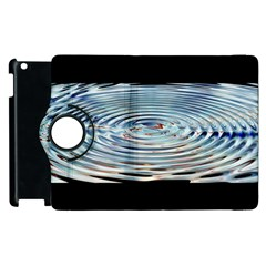 Wave Concentric Waves Circles Water Apple Ipad 3/4 Flip 360 Case by BangZart