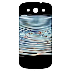 Wave Concentric Waves Circles Water Samsung Galaxy S3 S Iii Classic Hardshell Back Case