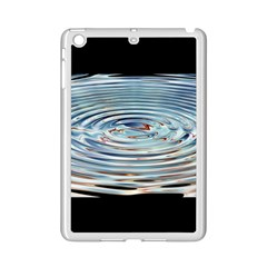 Wave Concentric Waves Circles Water Ipad Mini 2 Enamel Coated Cases by BangZart