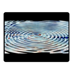 Wave Concentric Waves Circles Water Double Sided Fleece Blanket (small)  by BangZart
