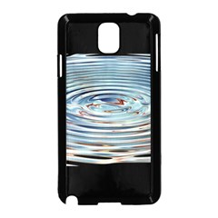 Wave Concentric Waves Circles Water Samsung Galaxy Note 3 Neo Hardshell Case (black)