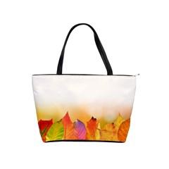 Autumn Leaves Colorful Fall Foliage Shoulder Handbags