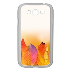 Autumn Leaves Colorful Fall Foliage Samsung Galaxy Grand Duos I9082 Case (white) by BangZart