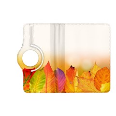 Autumn Leaves Colorful Fall Foliage Kindle Fire Hd (2013) Flip 360 Case by BangZart