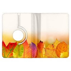 Autumn Leaves Colorful Fall Foliage Kindle Fire Hdx Flip 360 Case by BangZart
