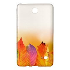 Autumn Leaves Colorful Fall Foliage Samsung Galaxy Tab 4 (8 ) Hardshell Case  by BangZart