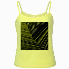 Paper Low Key A4 Studio Lines Yellow Spaghetti Tank
