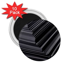 Paper Low Key A4 Studio Lines 2 25  Magnets (10 Pack)  by BangZart